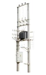 Столбовые трансформаторные подстанции (КТПС)