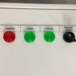 Щит управления электрообогревом